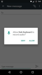 Hub-Android-audio-support