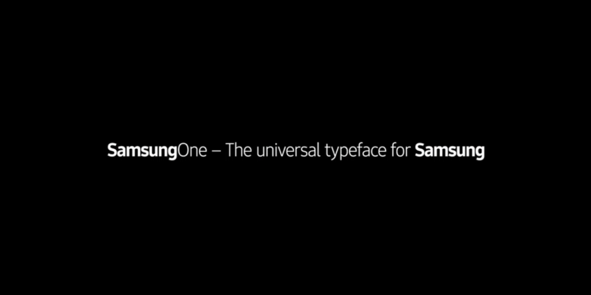 SamsungOne is the new font for all things Samsung – VERDICT