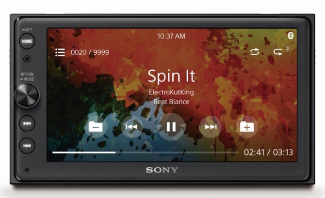 XAV-AX100_Front_Sony_MusicFile_Playback.jpg