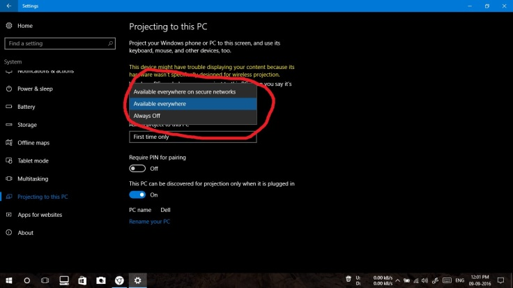 How to mirror your Android screen on your Windows 10 PC