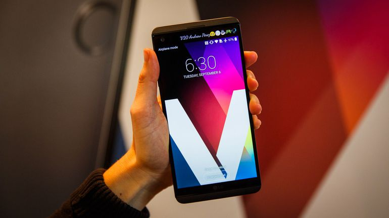LG V20 available in Canada now, U S  getting the unlocked