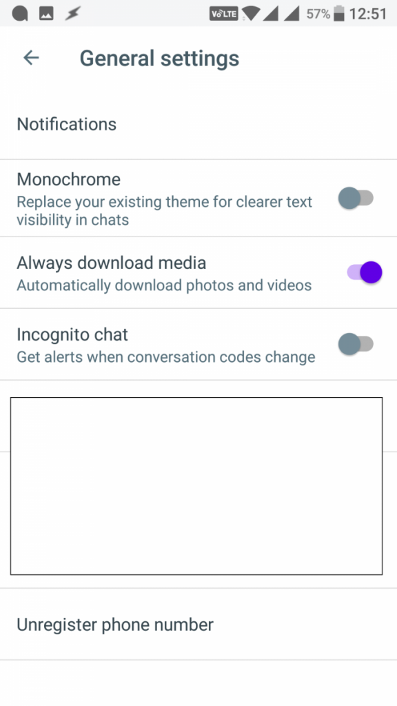 Monochrome Toggle