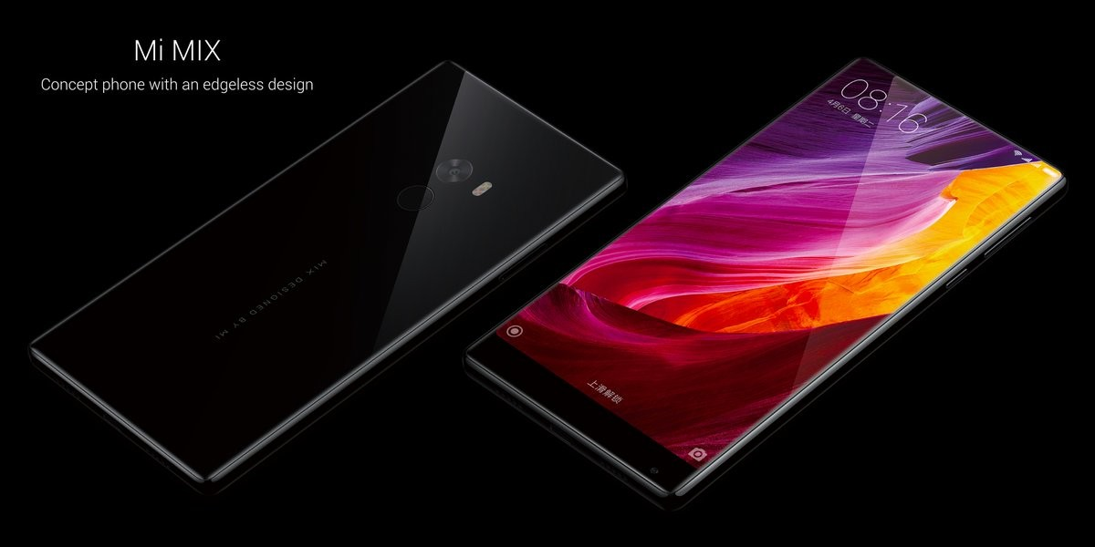 Download : Xiaomi Mi MIX And Mi Note 2 Stock Wallpapers