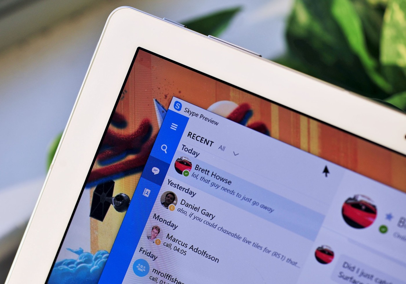 iMessage for Android will be here, but it'd be Skype from Microsoft